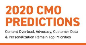 Infographic: CMOs offer predictions for 2020