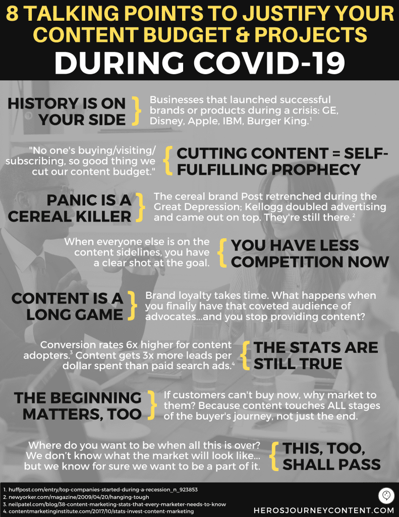 8 Talking Points Infographic