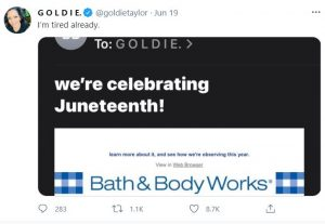 Twitter users roll their eyes over Juneteenth messaging, 6 top cybersecurity threats, and Boeing explains 737 Max certification