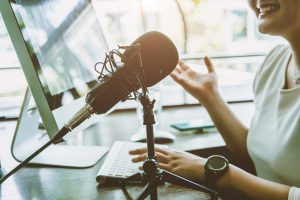 How communicators use podcasts to have conversations about thought leadership